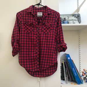 Abercrombie Red T shirt
